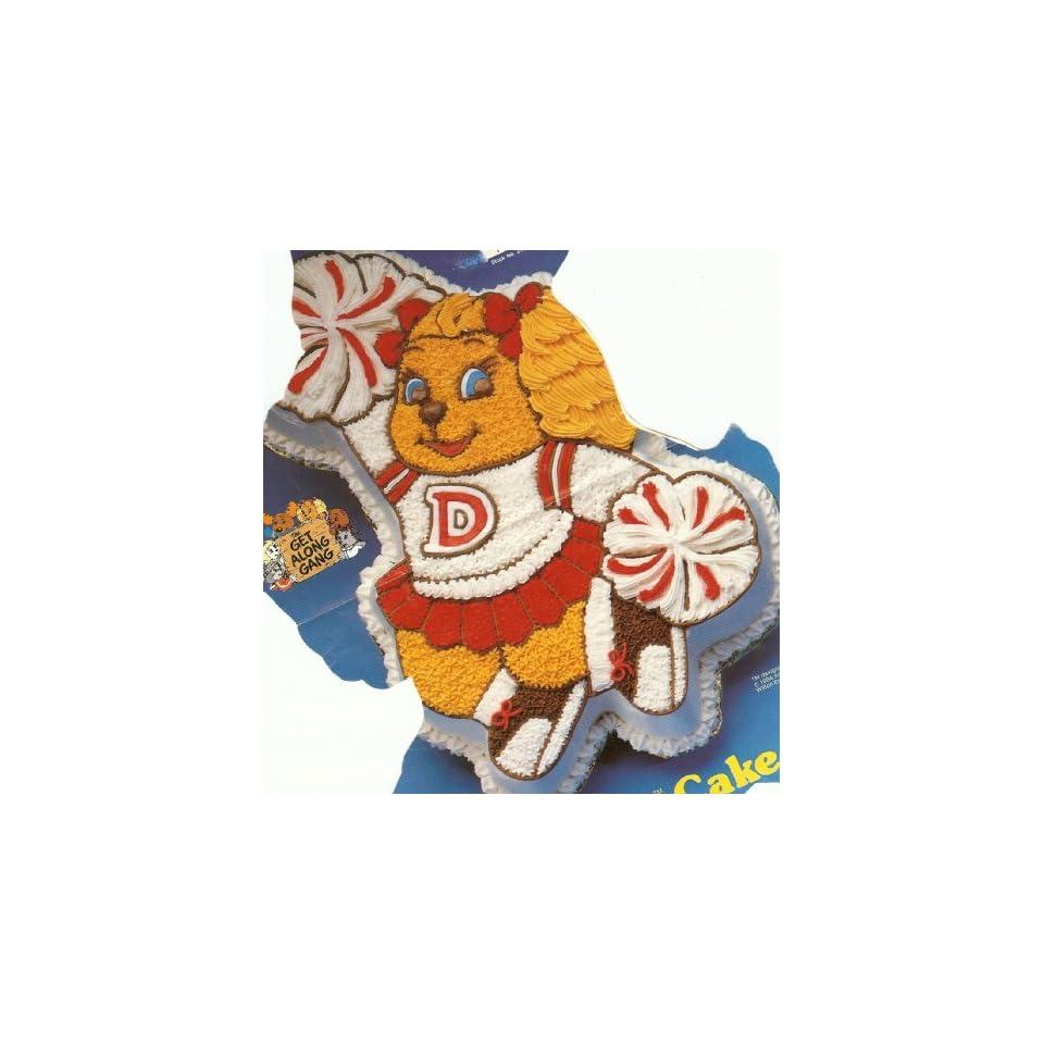 Wilton Dotty Dog / Cheerleader Cake Pan (2105 3975, 1985) Get Along Gang