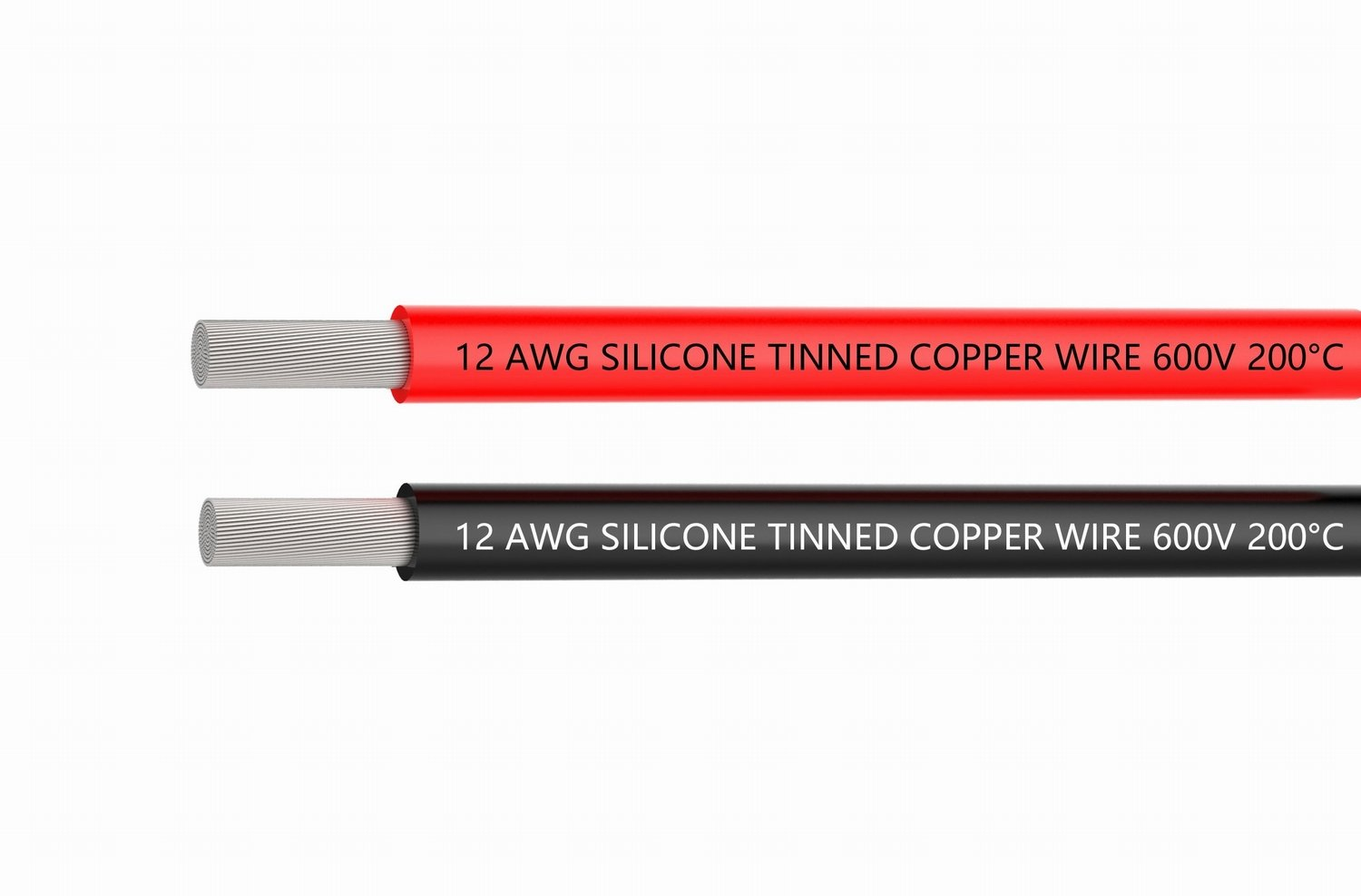 TUOFENG 12 Gauge Electrical Wire 20 Feet [10 ft Black And 10 ft Red] wire - 12 AWG Silicone Wire - Flexible Silicone Wire Works Well for RC car, drone, helicopter and airplane battery and engine wire