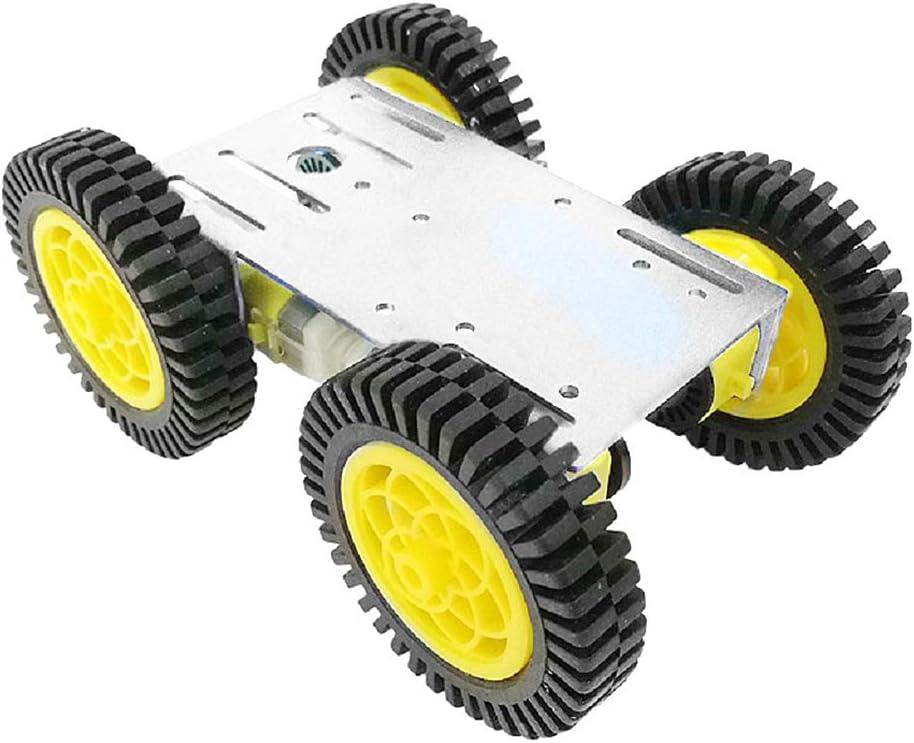 SM SunniMix Robot Tank Car Kit Tank Chassis Platform Aluminum Alloy Motor for Arduino//Raspberry Pi DIY