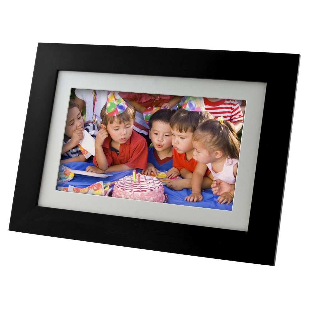 Pandigital Panimage PI7002AWB 7-Inch LED Digital Picture Frame (Black) by PanDigital