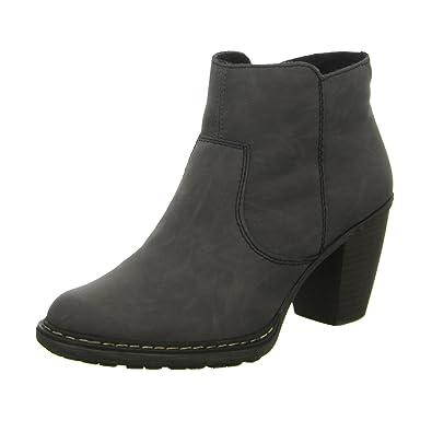 Rieker womens bootee grey