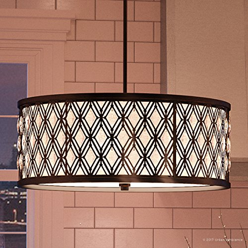 Luxury Art Deco Chandelier Large Size 9 H X 22 W With