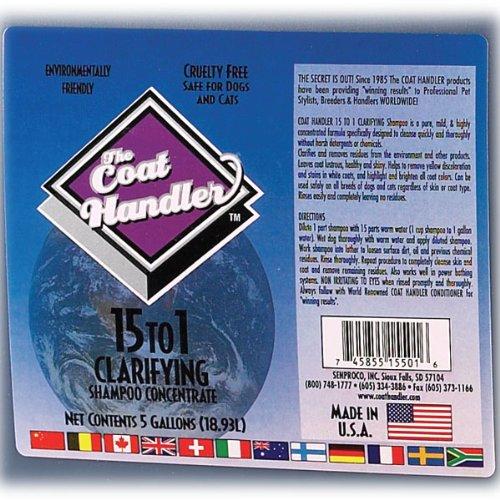 The Coat Handler Clarifying Shampoo 5 Gallon Jug