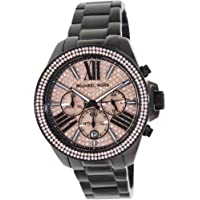 Michael Kors Everest Women's Rose Gold Dial Stainless Steel Band Watch - MK5879