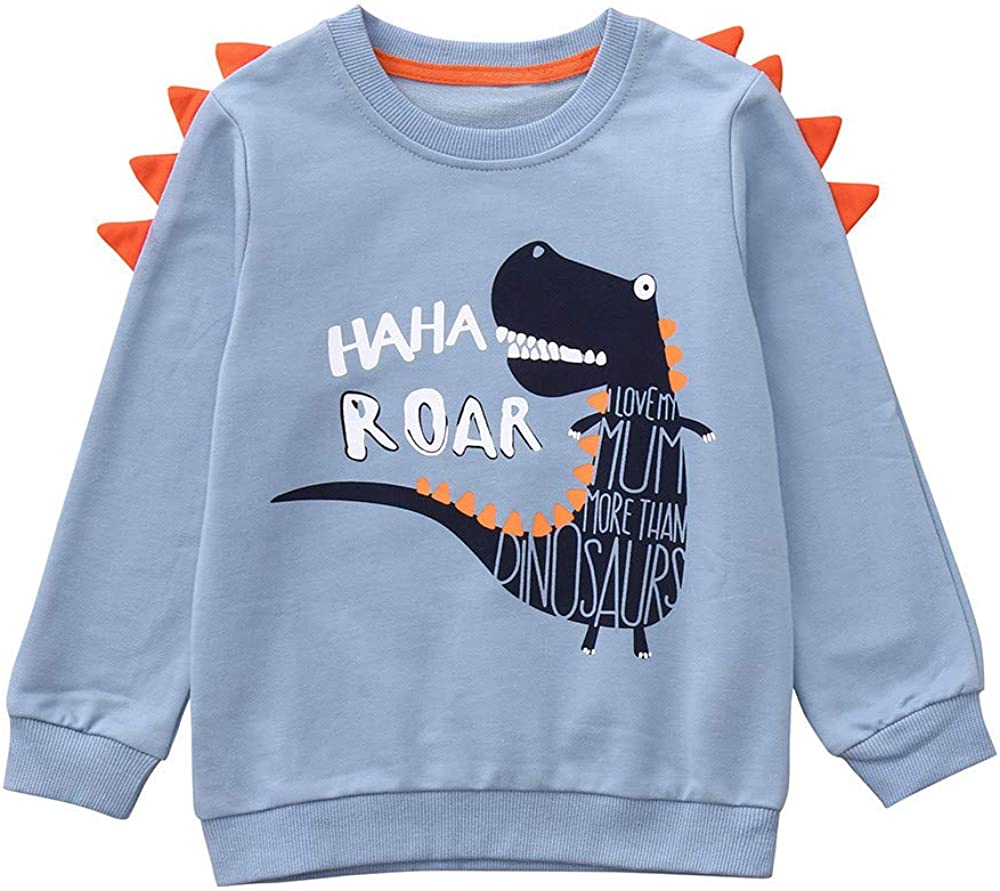 Kids Baby Boys Cotton Pullover Long Sleeves Top See You Later Alli Gator Winter Warm Sweatsuit/Clothes