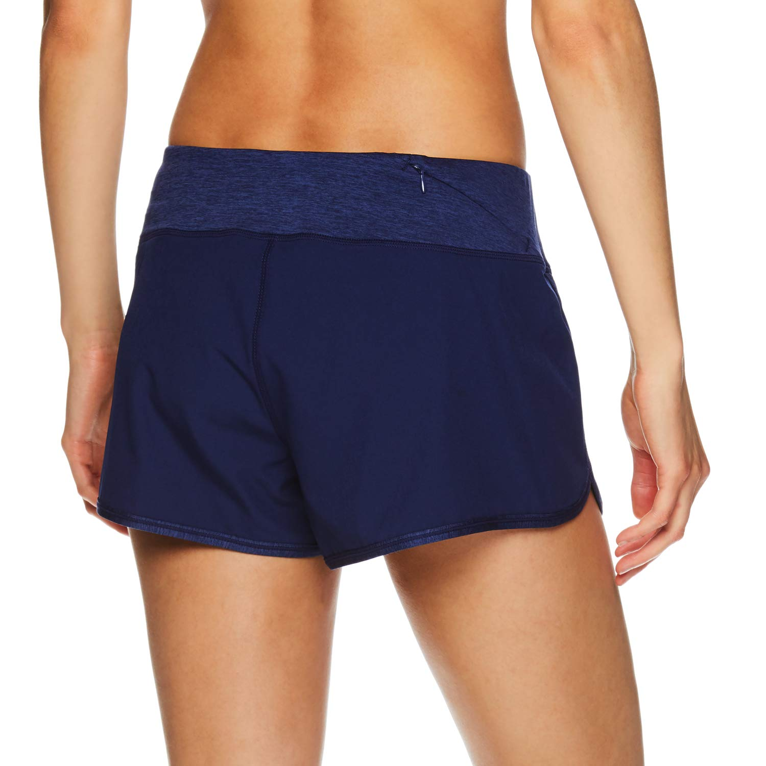 0aa3236c Reebok Women's Running Shorts, Relaxed Fit and Mid-Rise Waist Training  Shorts w/ Liner - 3 1/4 Inch Inseam
