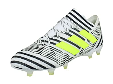 the best attitude b1f87 83323 Adidas Men s Nemeziz 17.1 Fg Ftwwht Syello Cblack Football Boots - 8 UK