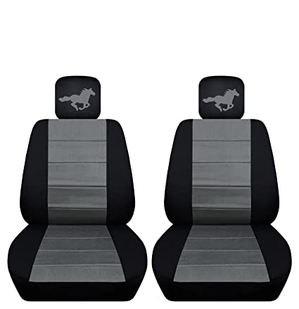 Astounding Amazon Com Fits 2015 2016 Ford Mustang Horse Seat Covers Andrewgaddart Wooden Chair Designs For Living Room Andrewgaddartcom