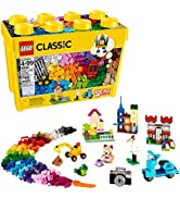 LEGO Classic Large Creative Brick Box 10698 Build Your Own Creative Toys, Kids Building Kit (790 ...