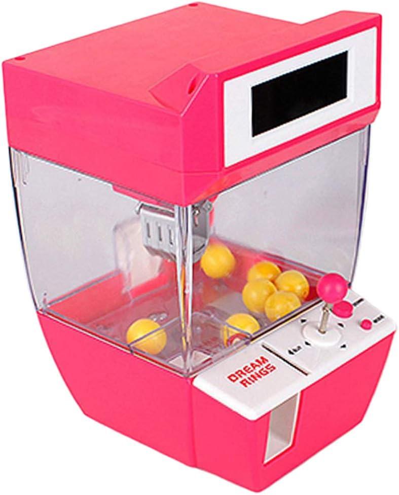 SDENSHI Machine Attrape /à Bonbons de Pince Candy Grabber Fete Foraine Anniversaire avec R/éveil