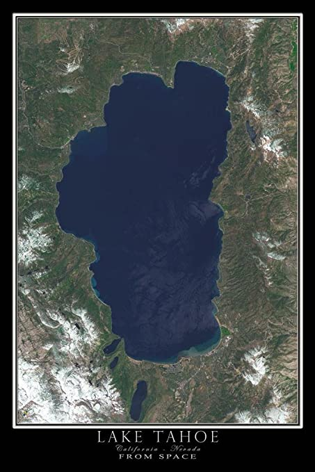 Amazon.com: Lake Tahoe California Nevada Satellite Poster ... on great basin college elko nevada, paradise valley nevada, atlas of nevada, google state of nevada, las vegas nevada, detailed map nevada, weather of nevada, lowest elevation in nevada, city of nevada, winnemucca nevada, united states of nevada, attractions of nevada, aerial map nevada, satellite aerial maps, state flag of nevada, satellite view of nevada, temperature of nevada, home of nevada,