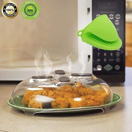 CGBOOM Tapa Micro, Tapas para microondas mgnétique plástico ...