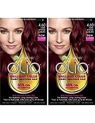 Garnier Hair Color Olia Oil Powered Permanent, 4.60...