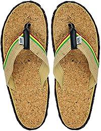 Bob Marley Cork 3 Reggae Music Mens Flip Flop Sandals