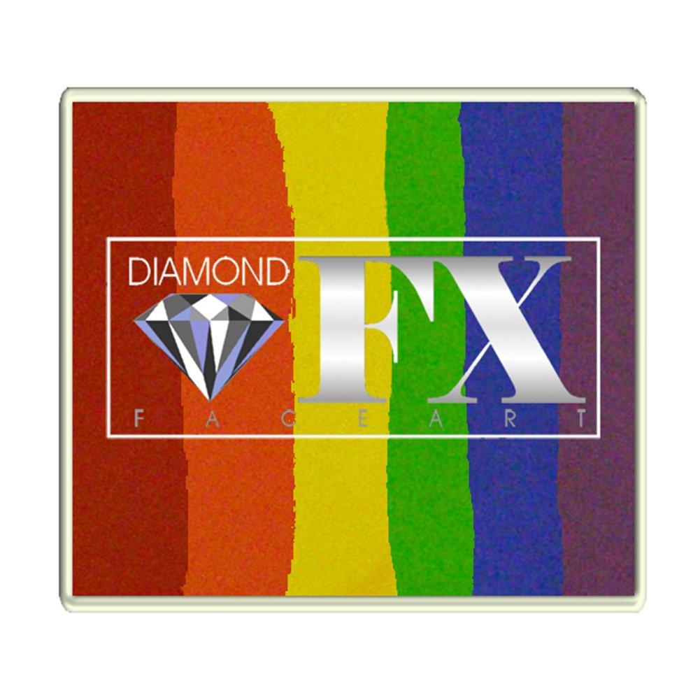 Diamond FX 50g Split Cake Face Paint ~ Flabbergasted (RS50-5) by Diamond FX Split Cakes