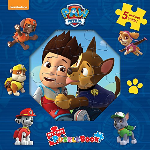 Paw Patrol My First Puzzle Book