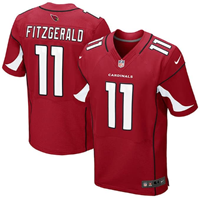 1e3a4ec1f Nike Men's NFL Arizona Cardinals Larry Fitzgerald #11 Elite Jersey  468880-673 (Size: 52 XXL) Red/White/Black: Amazon.ca: Clothing & Accessories