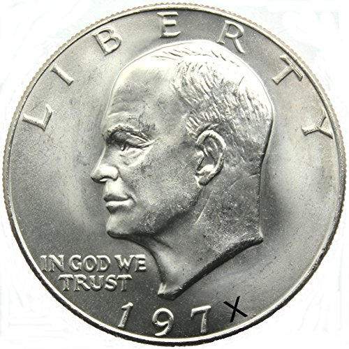 Uncirculated Eisenhower Dollar Coin 1971 To 1978 BU Ike Dollar Collectors (1972 Eisenhower Dollar Coin)