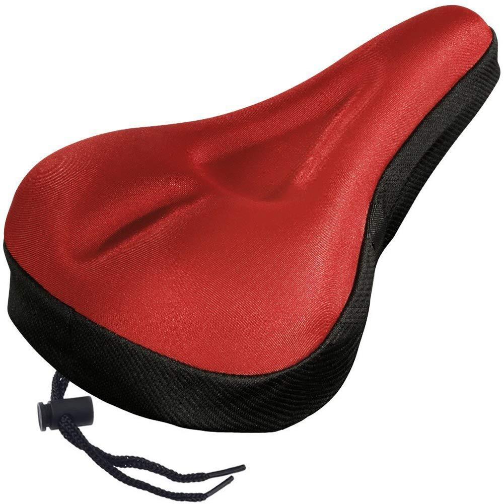 Gel Bike Seat Cover- Extra Morbido Gel Sella per Bicicletta –  Sella Cuscino con Copertura Resistente all' Acqua e Polvere, Blue, Taglia Libera Soldmore7