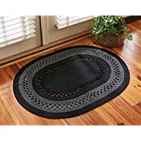 Park Designs Circle Loop Braid Rug 32X42, 32 x 42