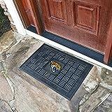 "Fan Mats 11445 NFL - Jacksonville Jaguars 19.5"" x 31.25"" Medallion Vinyl Door Mat"