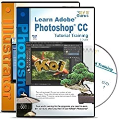 Adobe Photoshop CC. The ideal program to quickly and easily improve your photographs, create dramatic photo effects and artwork. And this video training DVD course makes it easy for you to learn how to:  Fix that Faded Photo Control Edits to ...