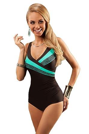 Aquarilla Luxury Swimwear Women Swimming Costume One Piece Swimsuit