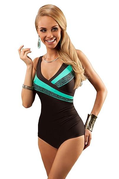 3b4829747341f Aquarilla Luxury Swimwear Women swimming costume one piece swimsuit ...