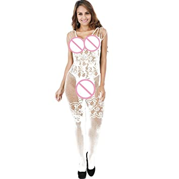 249fa75758a7e Sexy Dessous für Frauen für Sex ouvert mingfa floraler Spitze Kleid  Unterwäsche Bodys Strapse Strümpfe Babydoll Nachtwäsche Suit  for:S-XL,inside ...