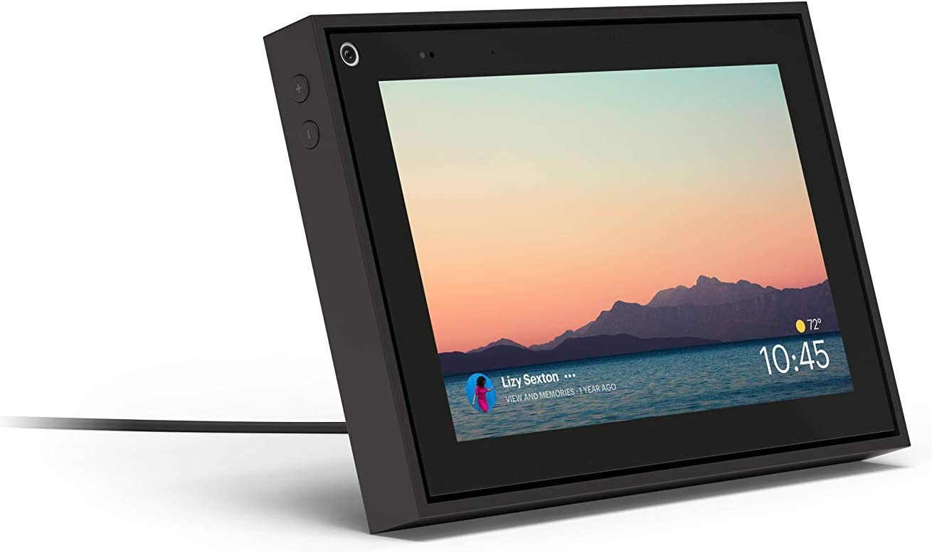 """Portal Mini Black 8"""" from Facebook. Smart, Hands-Free Video Calling with Alexa Built-in"""