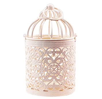 Westeng Kerzenhalter Vogelkafig Metall Teelicht Laternen Home