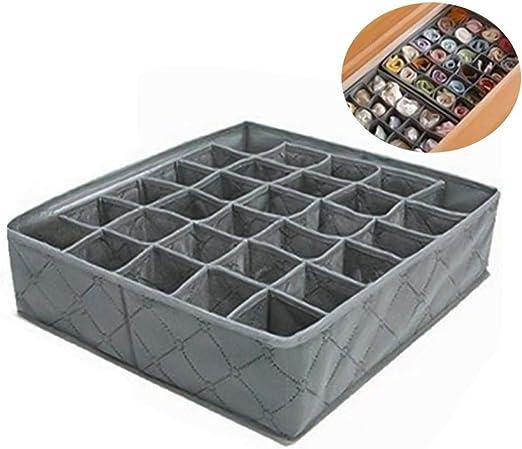 Leisial™ 30 Rejilla Caja de Almacenaje para Armarios Ropa Interior ...