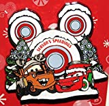 "Disney Cars Mater McQueen ""Season's Speedings"" Christmas 2014 Trading Pin - Theme Park Exclusive"