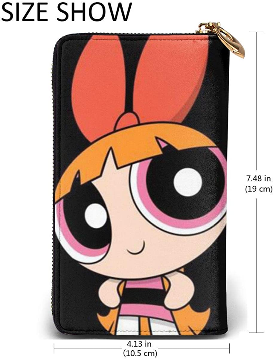 Powerpuff Girls Stylish And Personal Easy To Carry Leather Wallet