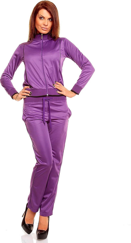 Chic et Jeune Women Wellness Suits leisure suit tracksuit wellbeing suit leisure suit jacket trousers homewear suit tracksuit zipper suit Jogger Long Sleeve
