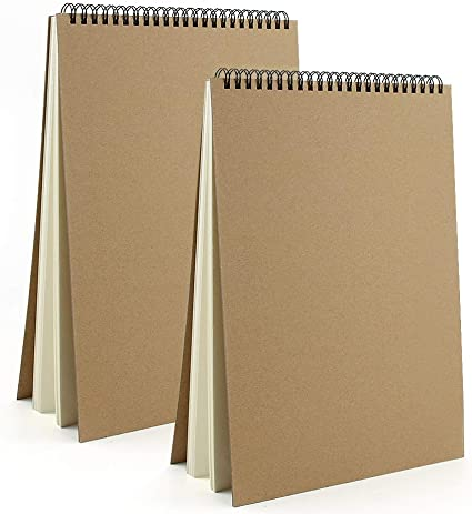 Artists Sketch 24 Sheet A4 Sketch Book Drawing Paper Pad for Kids /& Adults