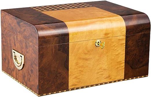 DS- Humidor Caja de cigarros, Caja de cigarros Humidor, Madera de ...