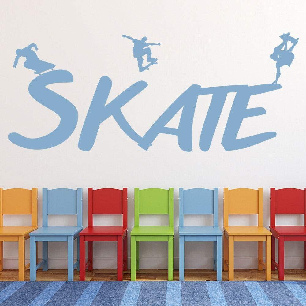 SKATE Boarding Deportes extremos Calcomanía de pared ...