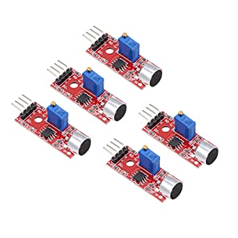 uxcell Microphone Sound Sensor Voice Detection Module with DO for Arduino AVR PIC