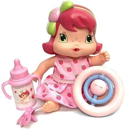 Boneca Baby Moranguinho Amiguinha com Acessórios