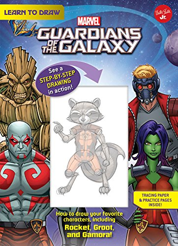 Learn to Draw Marvel's Guardians of the Galaxy: How to draw your favorite characters, including Rocket, Groot, and Gamora! (Licensed Learn to (Guardian Markers)