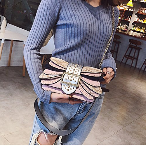 B Bag Package Shoulder Small And Vintage Party Chain Fashion New Personality Crossbody Creativity The America Europe Bag gwqxZaTyAC