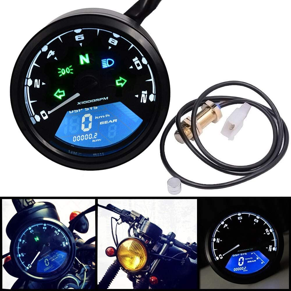 Digital Speedometer for Kawasaki VN 1600//1500 Mean Streak TM1