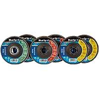 Discos de láminas de aluminio negras (juego