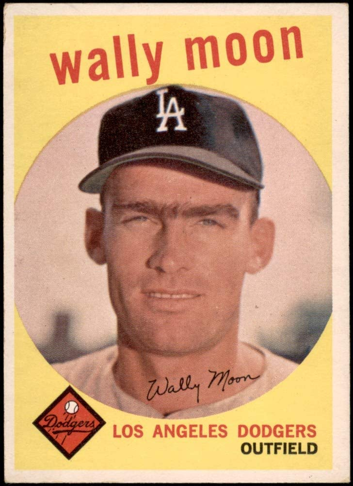Amazon.com: 1959 Topps # 530 Wally Moon Los Angeles Dodgers (Baseball Card)  VG/EX Dodgers: Collectibles & Fine Art