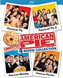 American Pie: Unrated 4-Movie Collection (American Pie/American Pie 2/American Wedding/American Reunion) [Blu-ray]