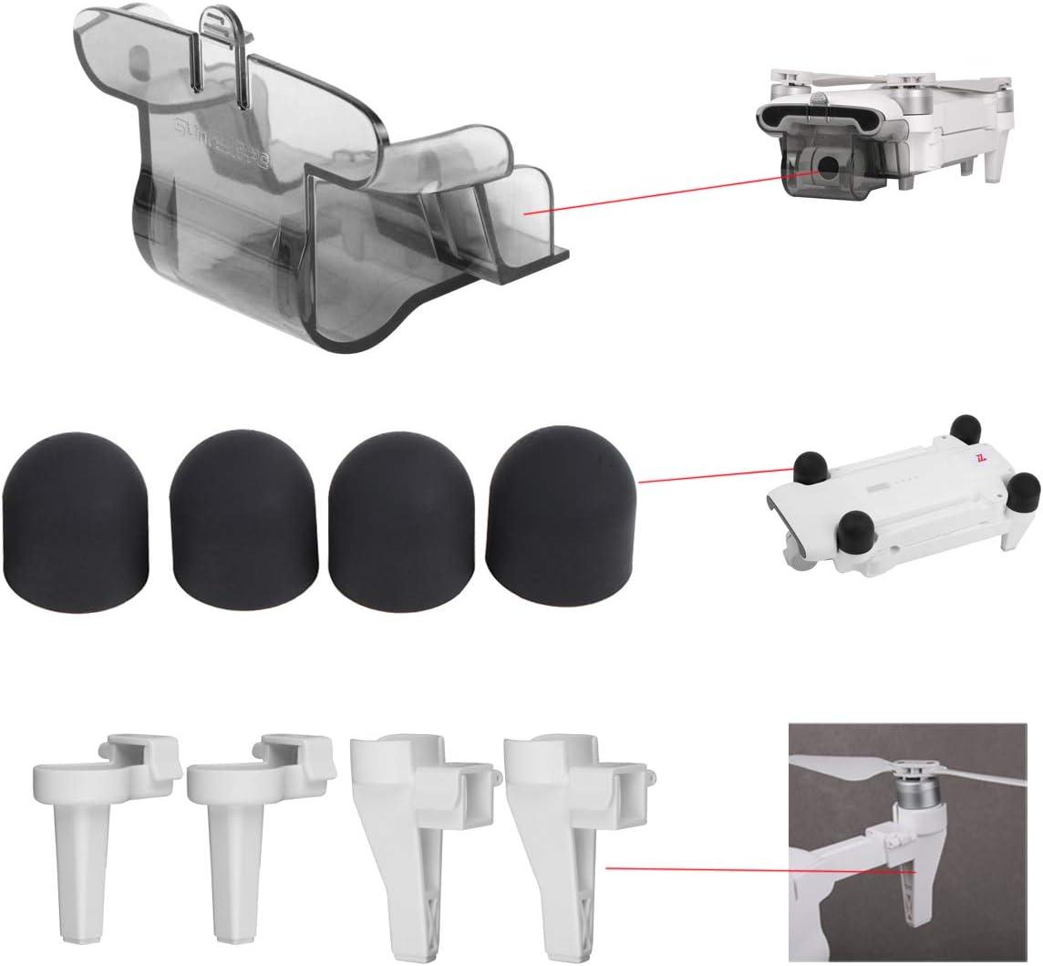 Flycoo2 3 en 1 Kit para Xiaomi FIMI X8 Se Drone Tren de aterrizaje + Tapa del Motor + Gimbal Cap Protección Accesorio