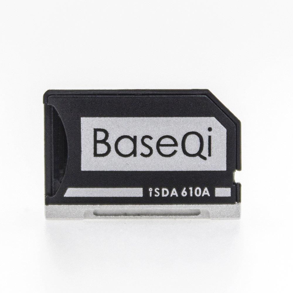 BASEQI aluminum microSD Adapter for Asus ZenBook Flip ux360CA Qi Ji Electronics Co. Ltd iSDA610ASV