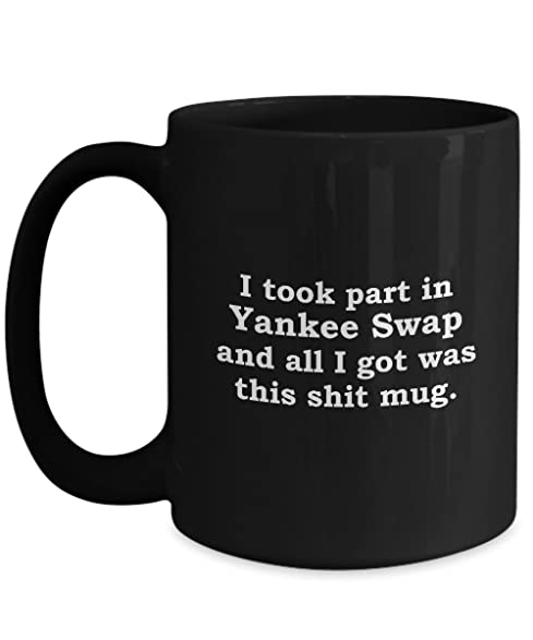 Amazon.com: Yankee Swap Funny Gift Mug Sarcastic Hilarious Christmas ...