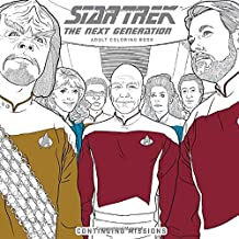 Star Trek: The Next Generation Adult Coloring Book-Continuing Missions